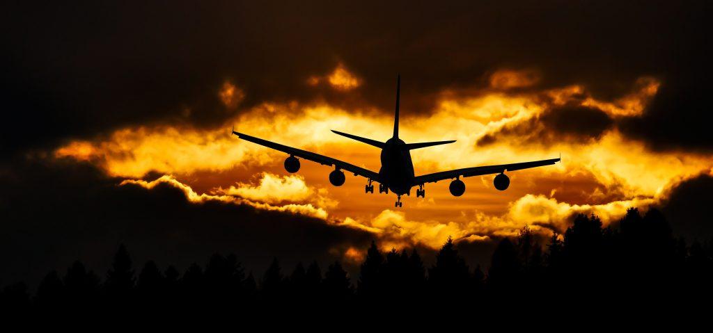 Continúa el viaje en avión hacia Japón